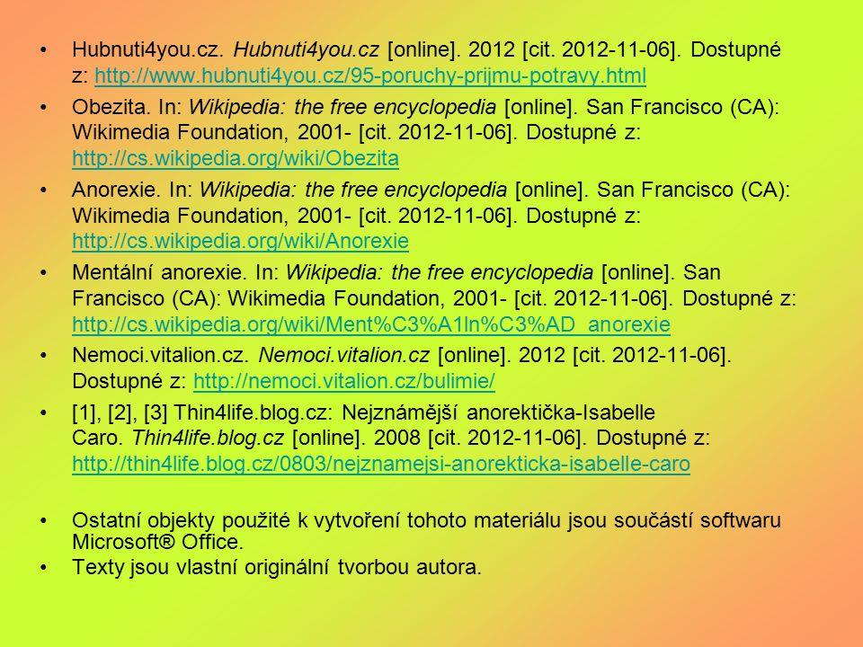 Hubnuti4you. cz. Hubnuti4you. cz [online]. 2012 [cit. 2012-11-06]